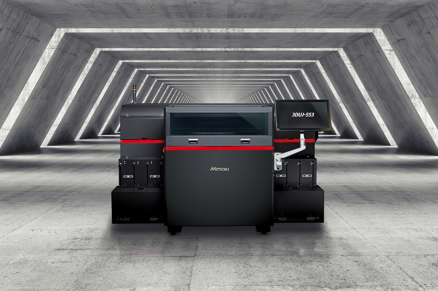 The Mimaki 3DUJ-553 full color 3D printer. Image via Mimaki