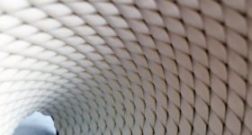 The 3D printed flexible armour inspired by the chiton mollusc. Photo via Virginia Tech.