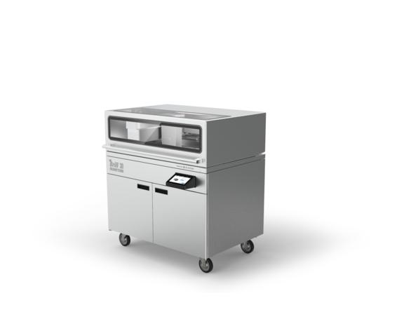 The Brill 3D Culinary Studio 3D printer. Image via 3D Systems.