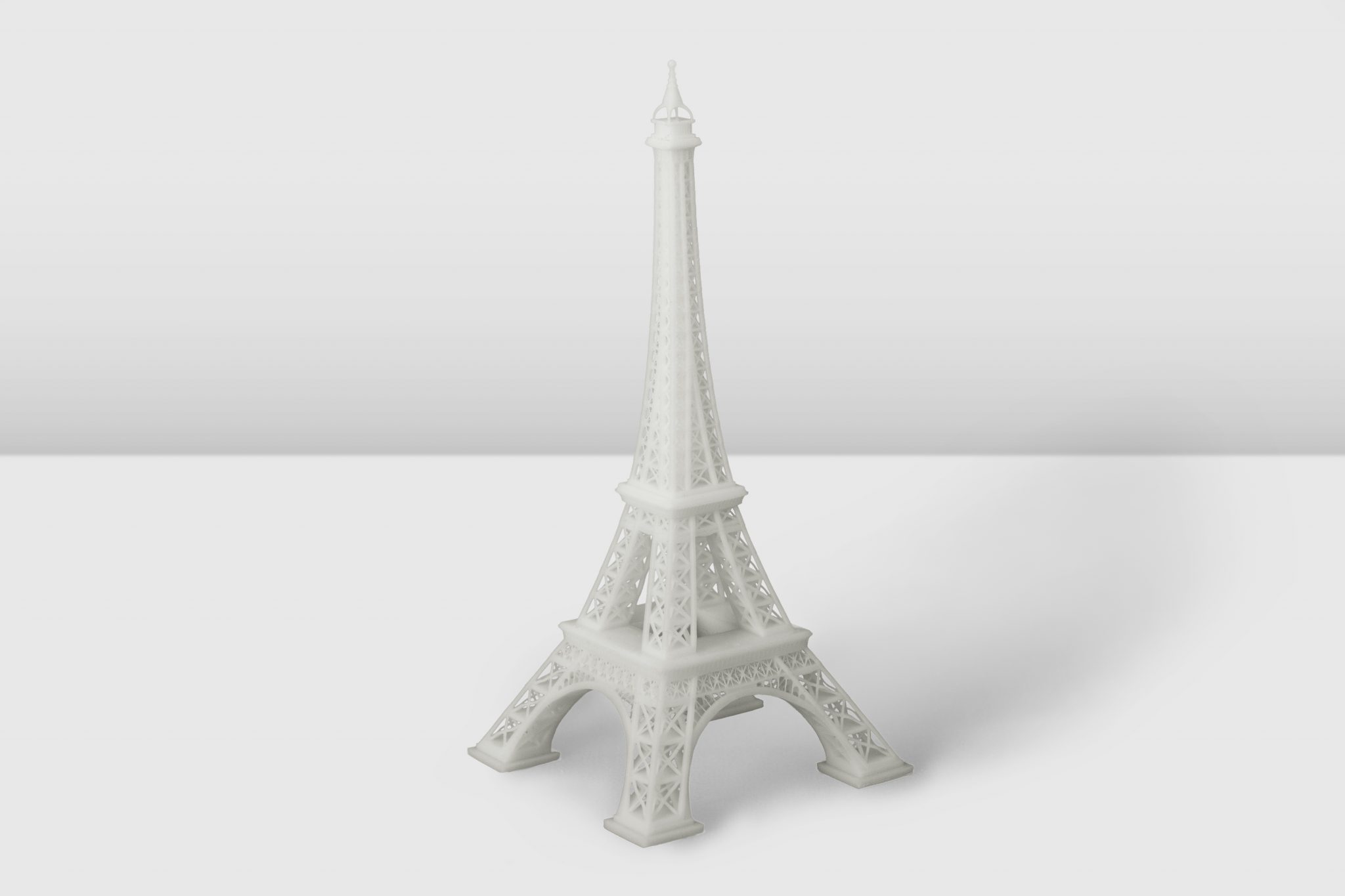 Eiffel Tower model 3D printed on the Inkspire.