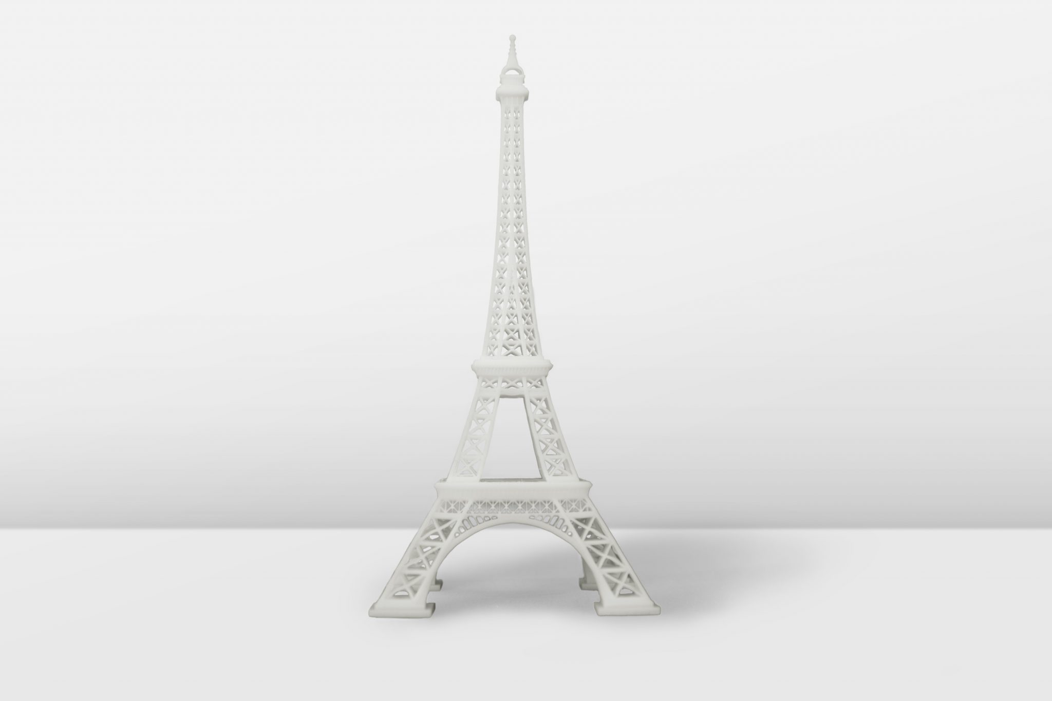 Eiffel Tower model 3D printed on the Inkspire