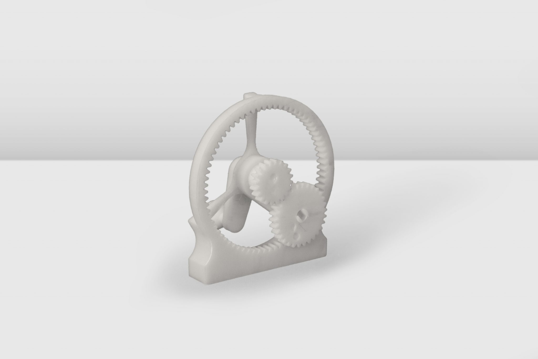 Planetary gear assembly 3D printed on the Inkspire.