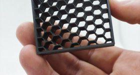 Part 3D printed using Addbor N25 filament. Photo via Additive Composite.