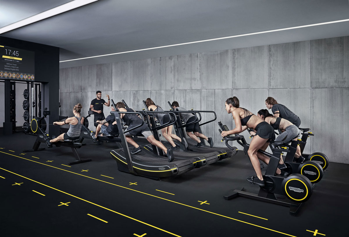 Technogym Machines. Photo via WASP.