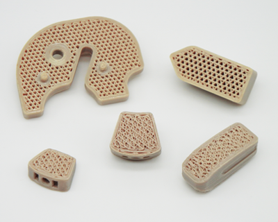 FossiLab 3D printed medical devices. Photo via FossiLab.