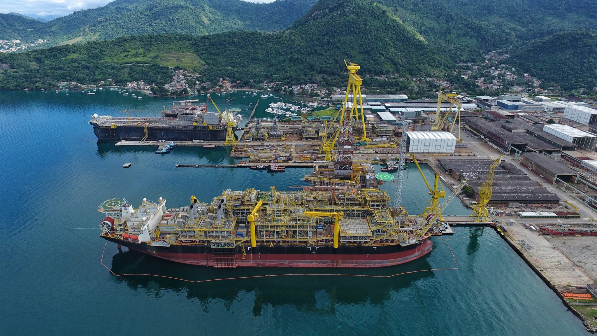Keppel Offshore & Marine operation. Photo via Keppel O&M.