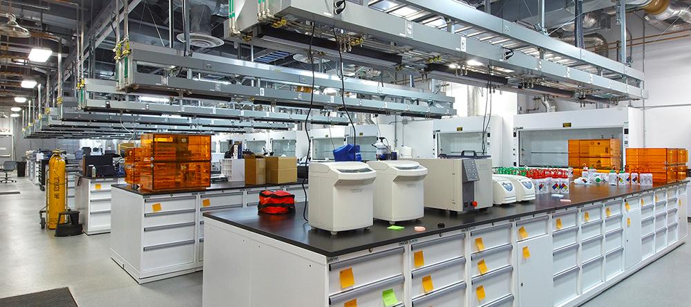 The Wet Lab at the AML. Photo via LLNL.