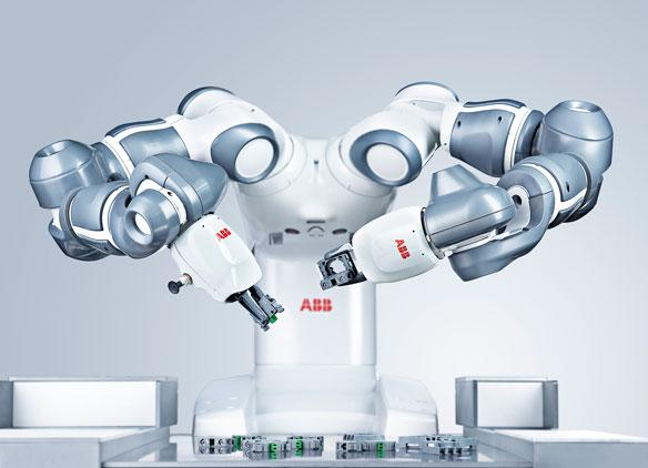 ABB collaborative robot. Photo via ABB Robotics.