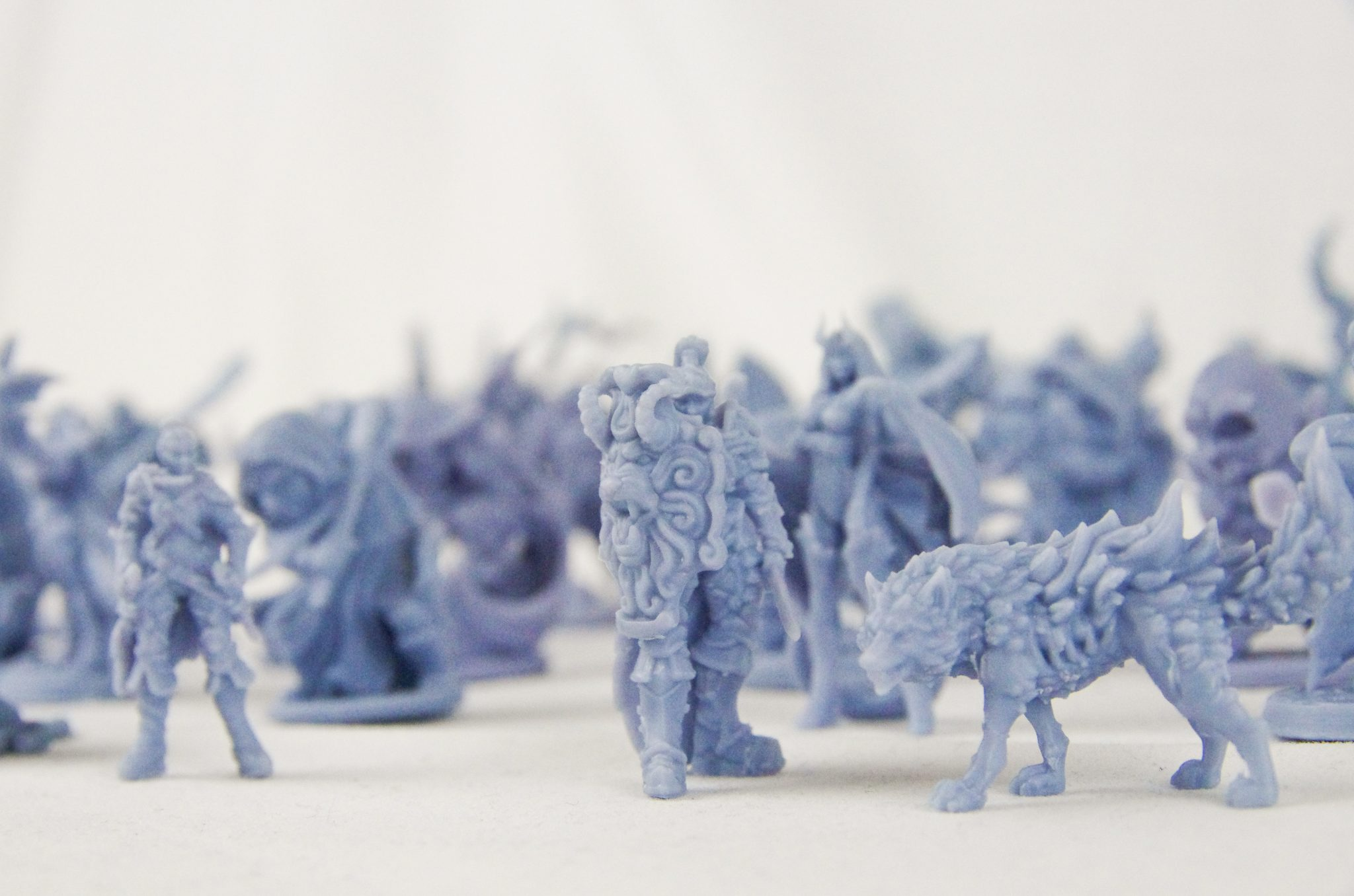 MyMiniFactory 3DPrinted & Delivered miniatures. Photo via MyMiniFactory.