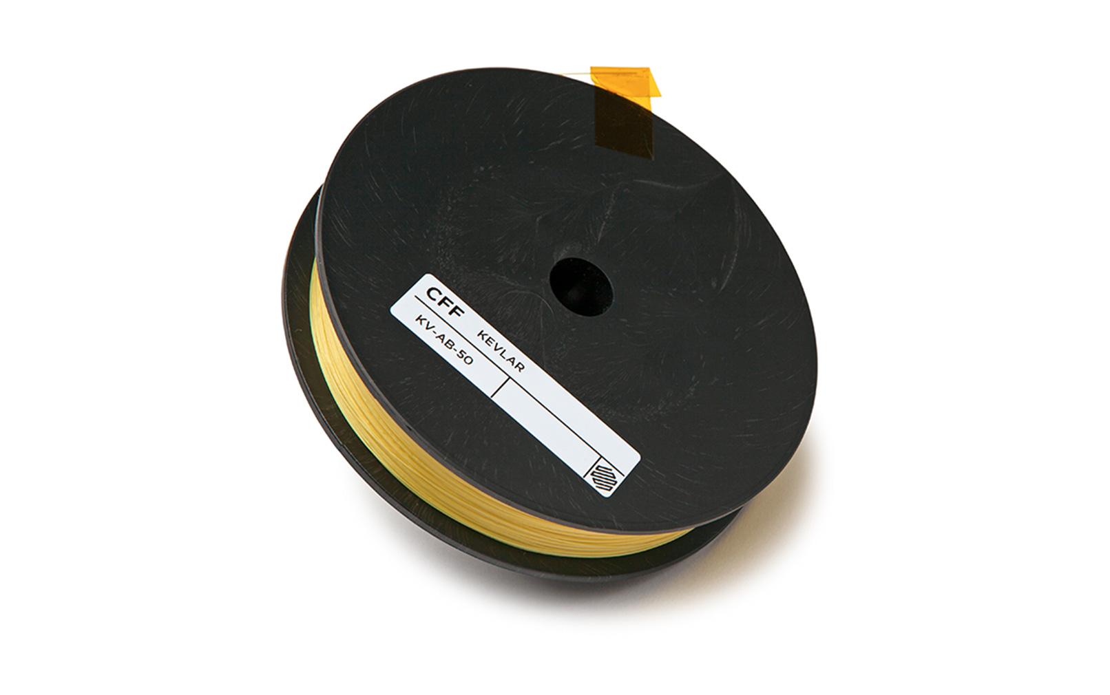 Markforged kevlar filament. Image via Markforged.
