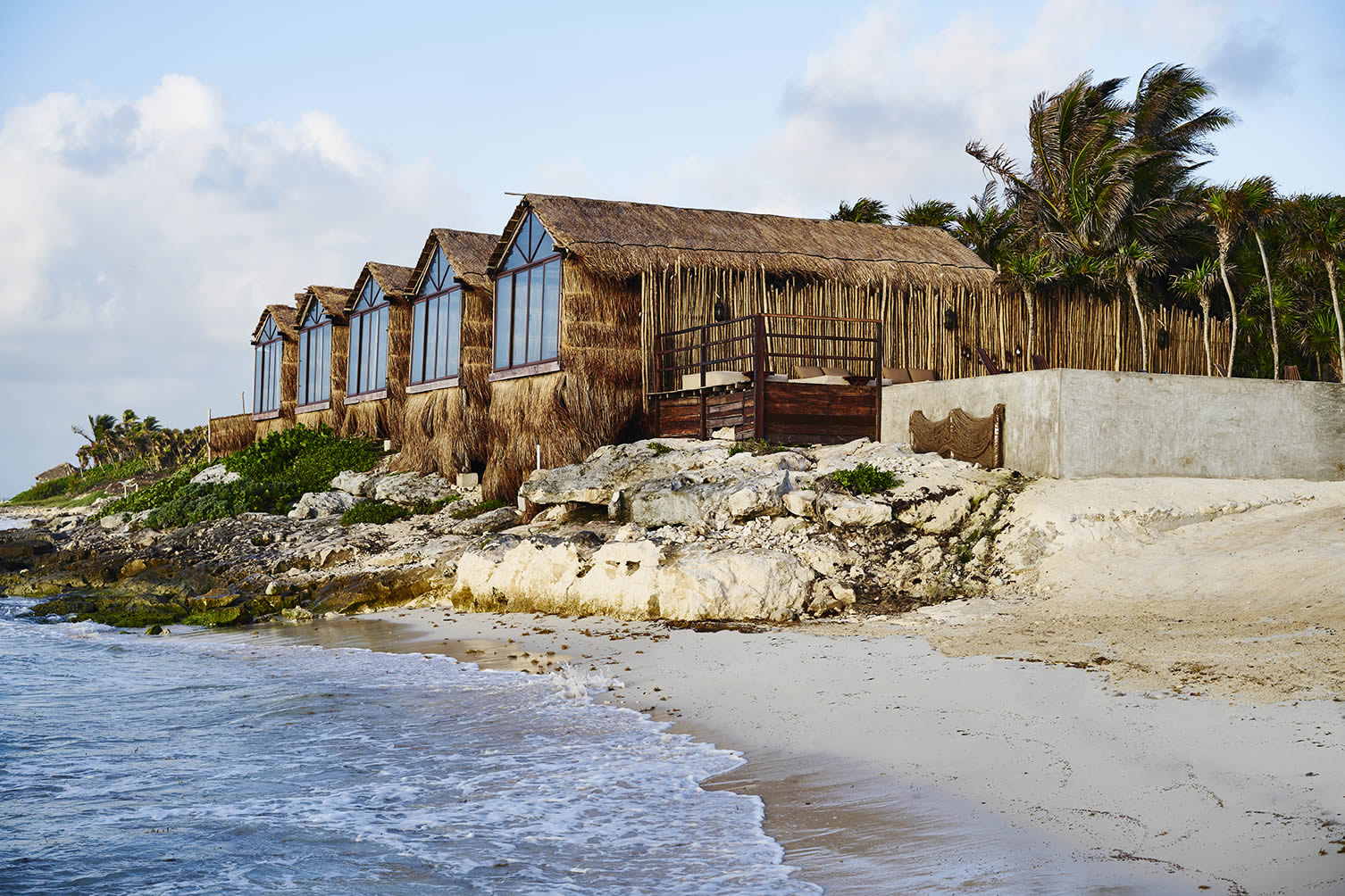 Habitas Hotel in Tulum, Mexico. Photo by Adrian Gaut.