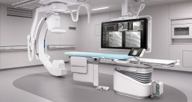 Interventional X-ray imager. Image via Philips.