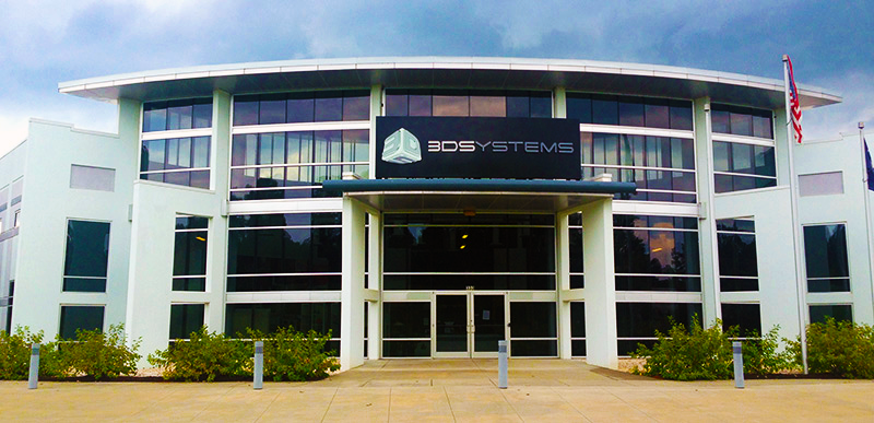 3D Systems headquarters. Photo via 3D Systems.