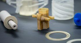 3D printed contactor. Photo via Argonne National Laboratory.