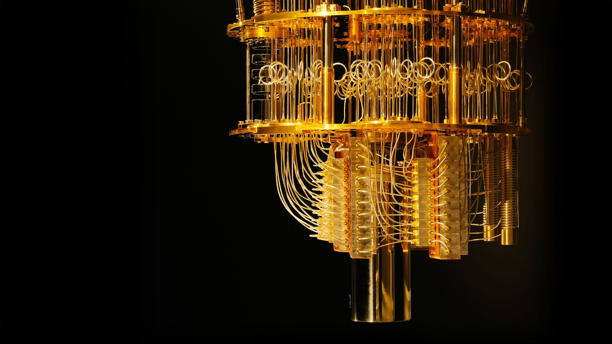 IBM's quantum computer - one of the first quantum computers to be developed. Photo via IBM