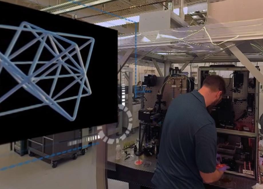 Lawrence Livermore National Laboratory 3D printing lab. Photo via LLNL.