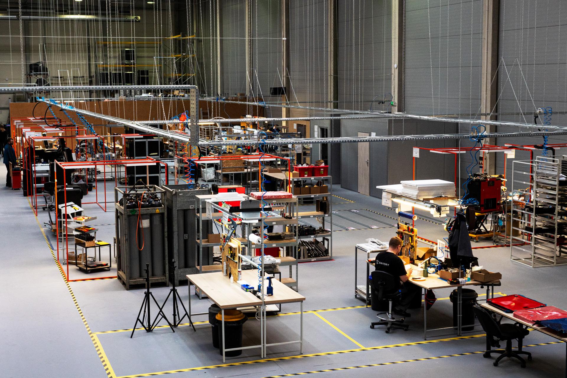 New production facility of Sinterit. Photo via Sinterit.