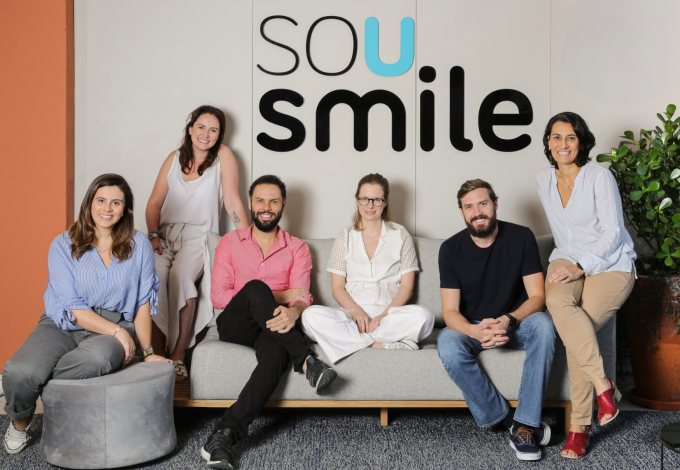 SouSmile's founders. Photo via SouSmile.