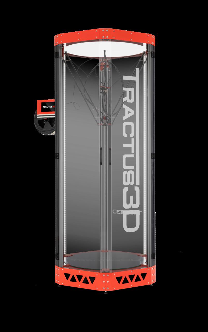 Tractus3D T2000 3D printer. Photo via Tractus3D.