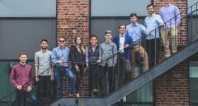 The Fortify team based in Boston. Photo via Fortify.