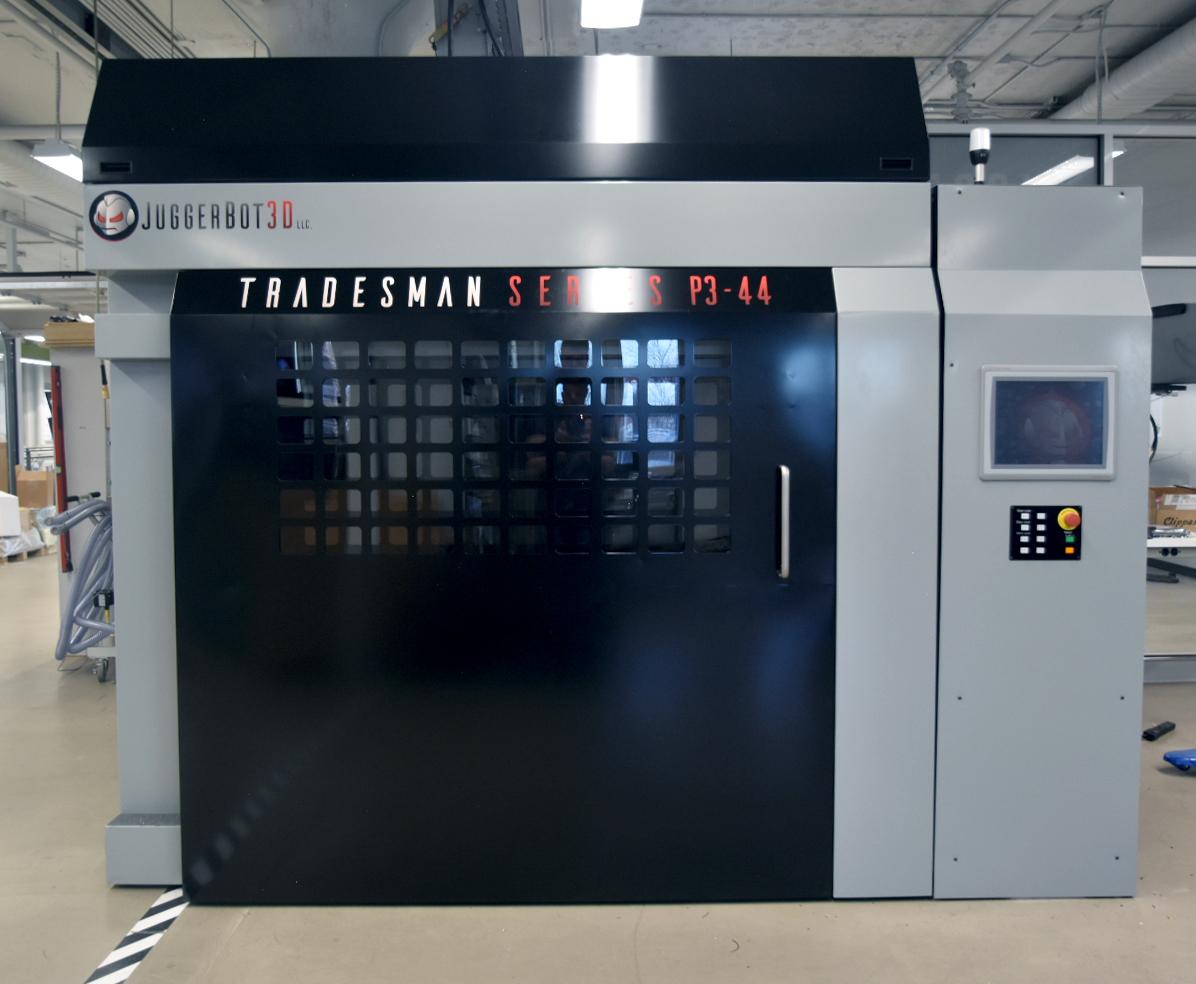 JuggerBot's P3-44 FGF 3D printer. Photo via JuggerBot 3D.