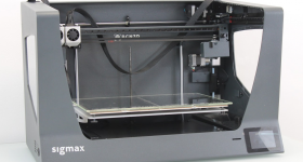 The BCN3D Sigmax R19 3D printer. Photo by 3D Printing Industry.