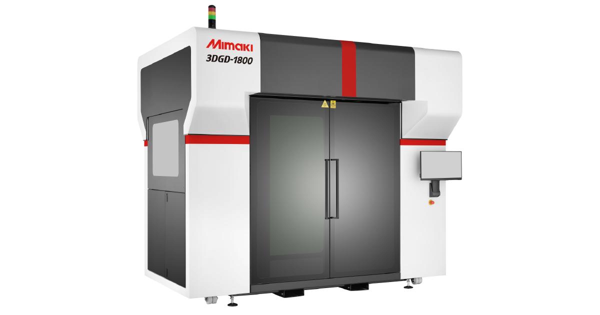 The Mimaki 3DGD-1800 3D printer. Photo via Mimaki.