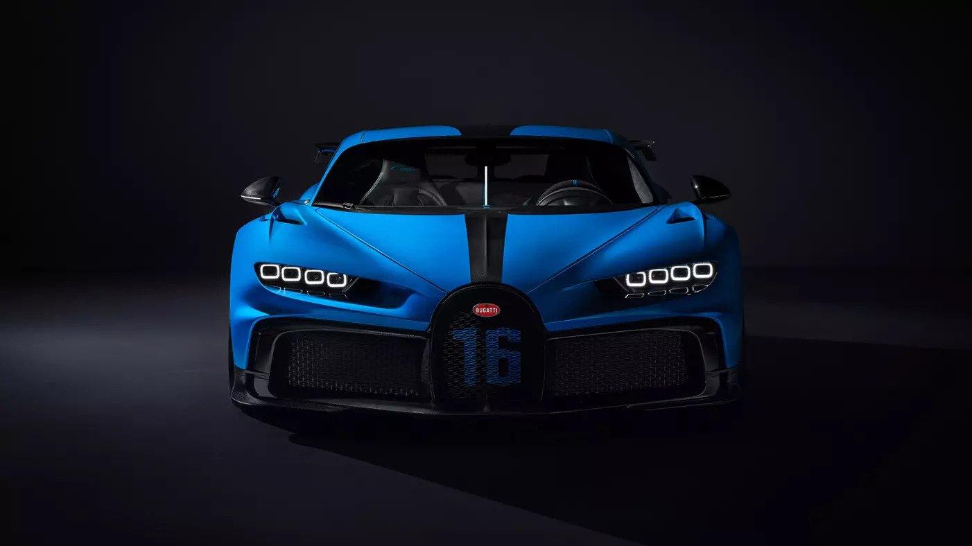 The Bugatti Chiron Pur Sport. Photo via Bugatti.