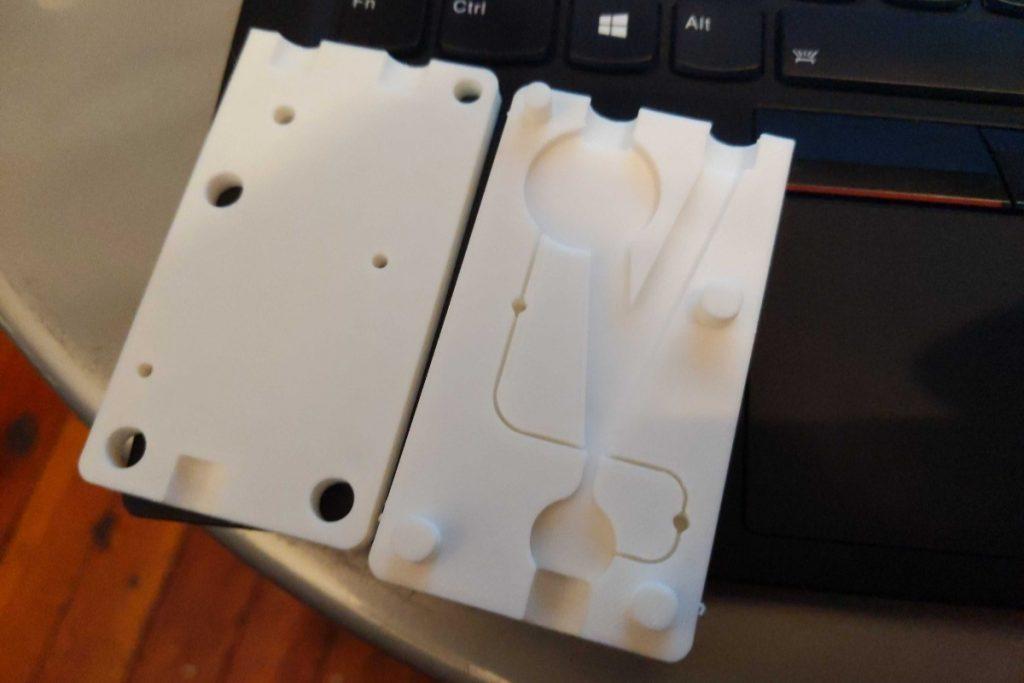 A 3D printed ARMEE prototype. Photo via Warren Koch.
