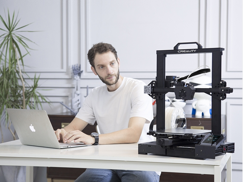 The Creality CR-6 SE 3D printer. Photo via Creality.