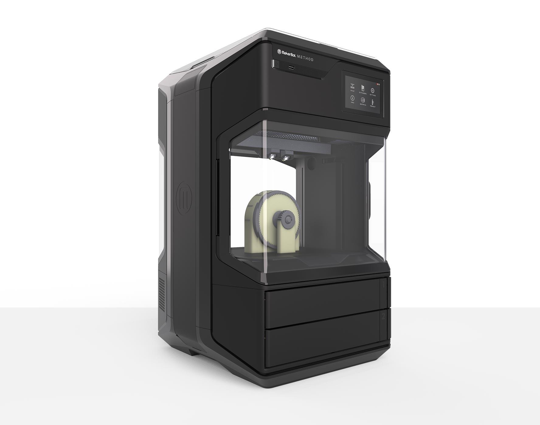 MakerBot METHOD 3D printer. Photo via MakerBot.
