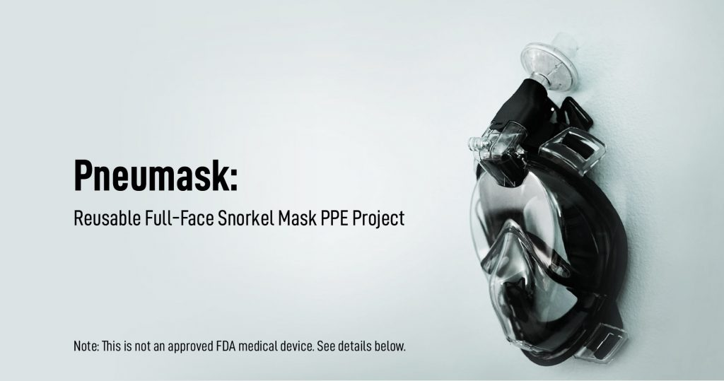 Pneumask from Stanford University. Image via Stanford University.