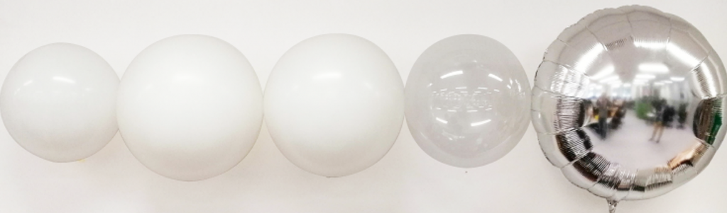 Balloon contenders for the envelope (microfoil on far right). Photo via University of Auckland.