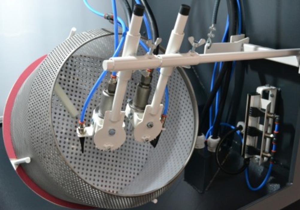 Removable internal tumble basket. Photo via AMT.
