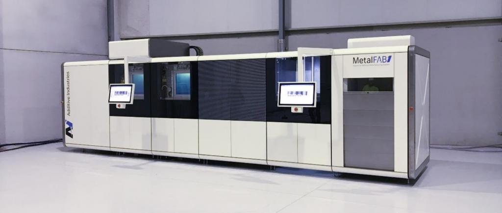 The MetalFAB1 3D printer. Photo via Additive Industries.