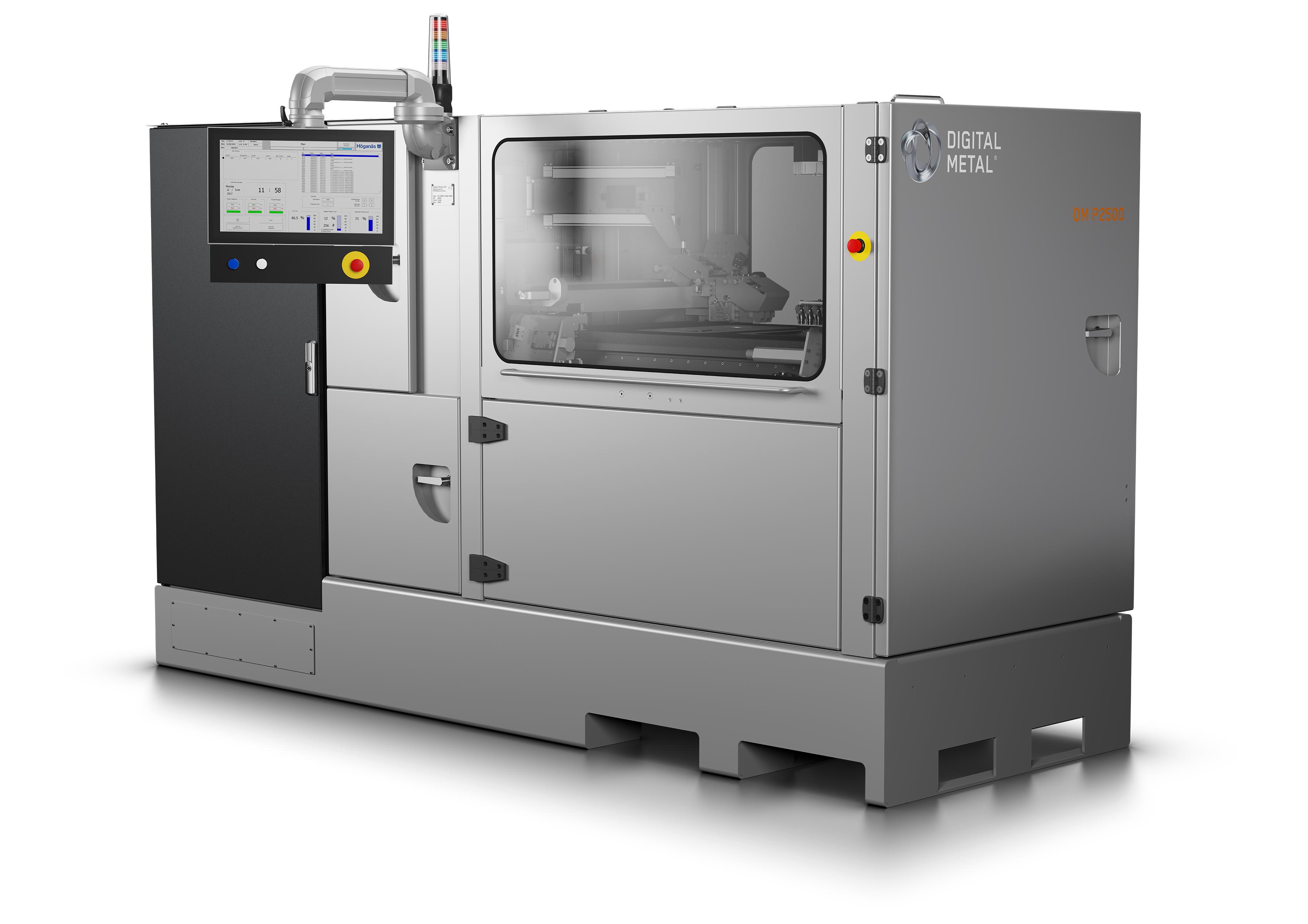 The DM P2500 3D printer. Photo via Digital Metal.