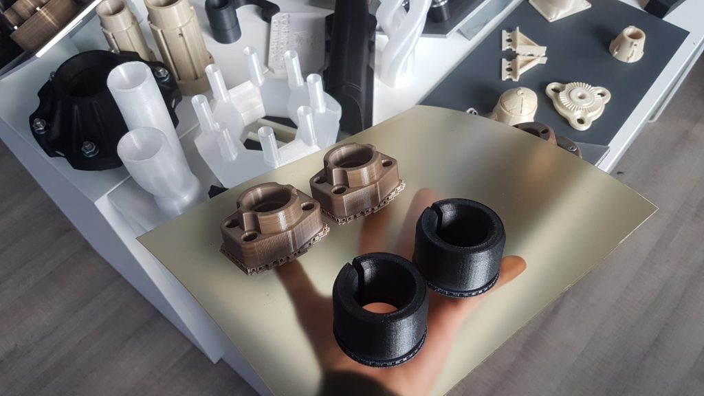 3D prints from Roboze. Photo via Roboze.