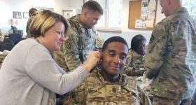 Earplugs are essential for soldiers, who are often surrounded my loud machinery and weaponry. Photo via the US Army.