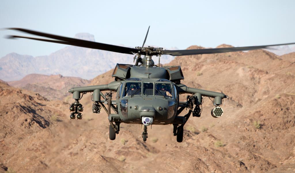 Black Hawk helicopter.  Photo by Lockheed Martin.