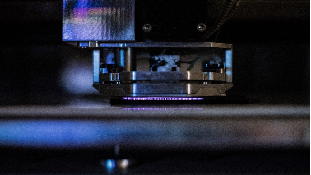 Texas A&M and Essentium researchers have developed the technology to weld adjacent 3D printed layers more effectively, increasing the reliability of the final product. Photo via Texas A&M.