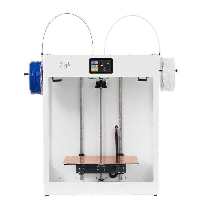 The CraftBot Flow IDEX XL 3D printer. Photo via Craftunique.