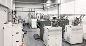Farsoon metal 3D printers on the Falcontech shop floor. Photo via Falcontech.