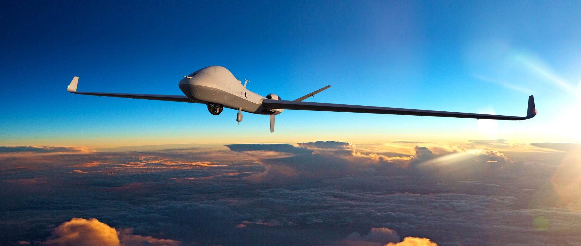 GA-ASI's SkyGuardian RPA takes to the sky. Photo via GA-ASI.