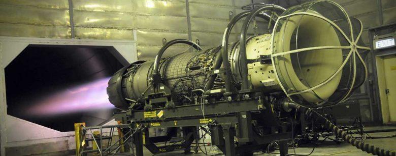 GE's F110 turbofan engine. Photo via GE.