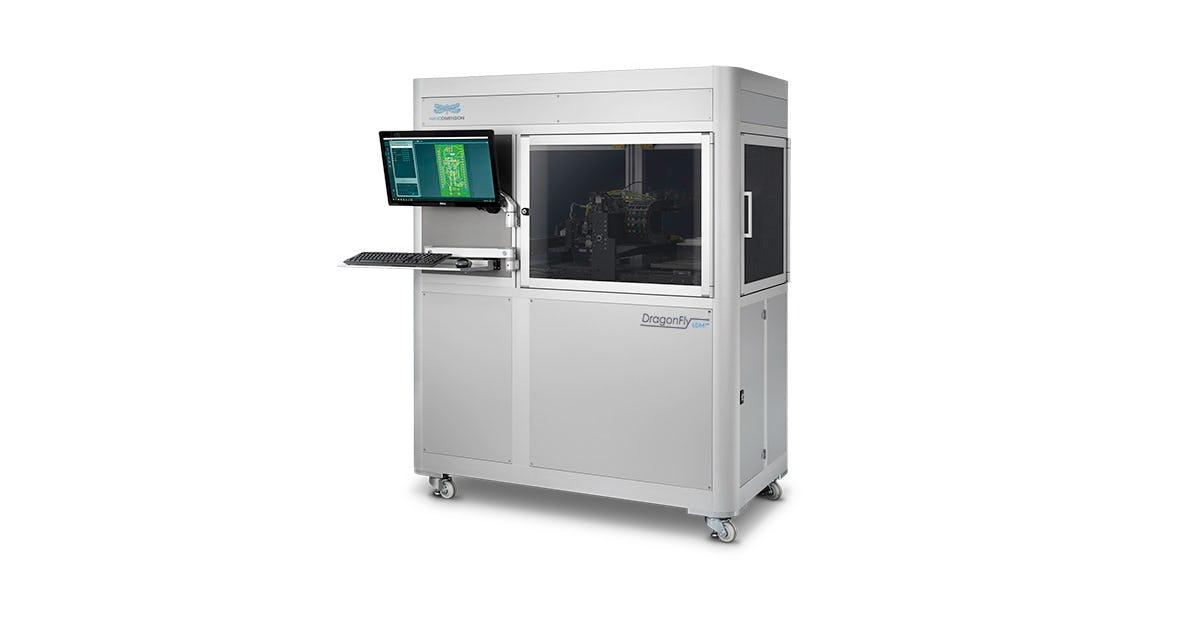 Nano Dimension's DragonFly LDM 3D electronics printer. Photo via Nano Dimension.