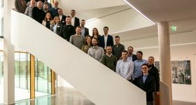 The consortium meeting of the 15 partners in Krailling. Photo via EOS.