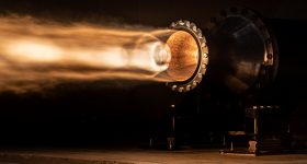 Rocket crafters has finished testing its Comet rocket engines. Photo via John Kraus, Rocket Crafters.