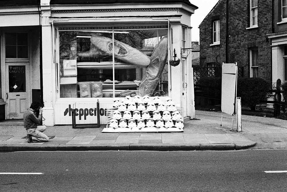 Shepperton Design Studios, Twickenham, UK - 1976. Photo via Andrew Ainsworth.