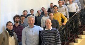 The 'HandheldOCT' partners meeting in Vienna. Photo via Medical University of Vienna.