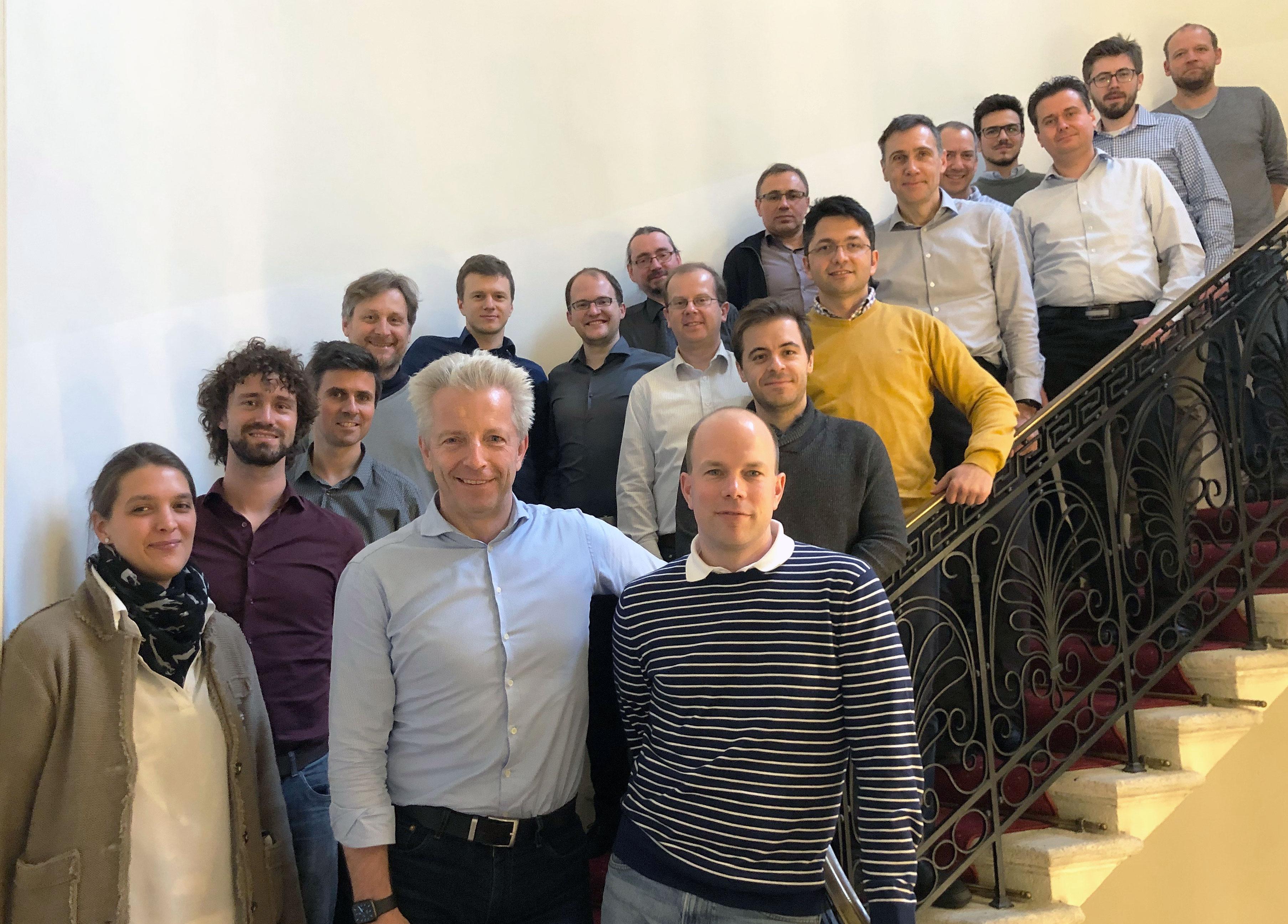 The 'HandheldOCT' partners meeting in Vienna. Photo via Medical University of Vienna.